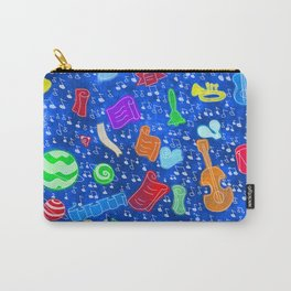 1815 Beethoven (Blue) Carry-All Pouch