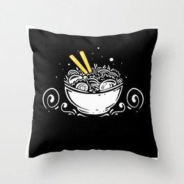 Ramen Noodles Should Fire My Genius Design Throw Pillow