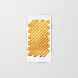 Curved Pencil Hand & Bath Towel