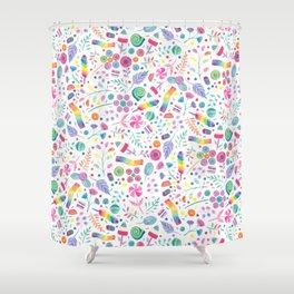 Candy Garden Shower Curtain