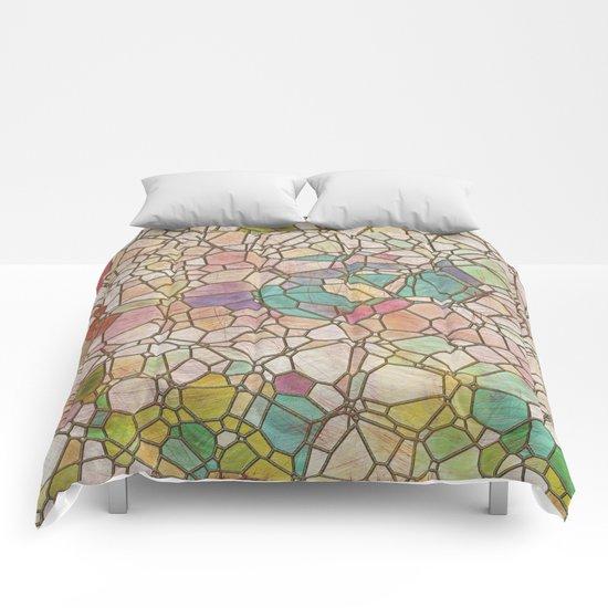 Aztec Vintage Pattern 05 Comforters