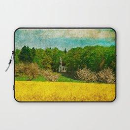spring in upper Swabia Laptop Sleeve