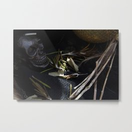 Fertility and the Repercussions Untold Metal Print