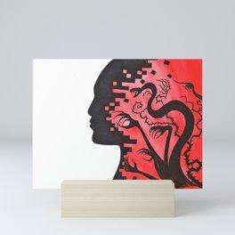 Portrait of Anxiety Mini Art Print
