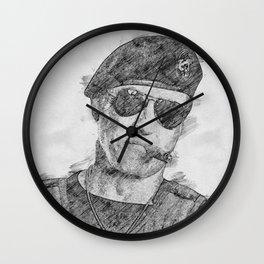 Barney Ross Wall Clock