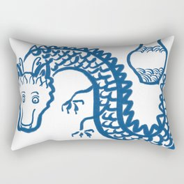 The Dragon Who Escaped Rectangular Pillow