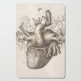 The Back Of The Heart Cutting Board