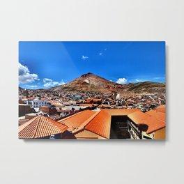 Cerro Rico Metal Print