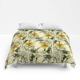 Feathers and Flowers Comforters