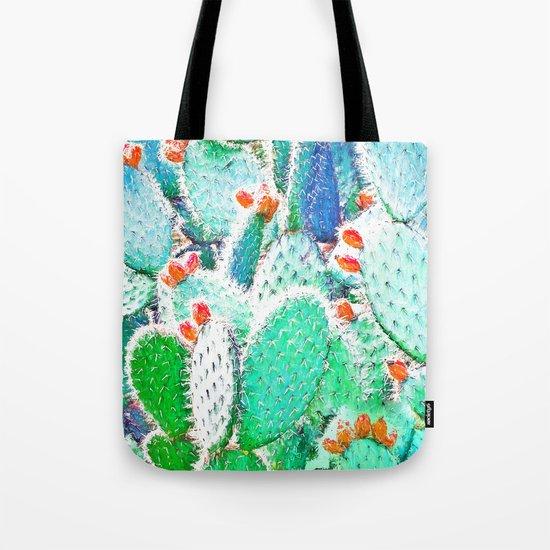 Painted Cactus #society6 #decor #buyart Tote Bag