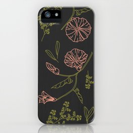Florally Immoral iPhone Case