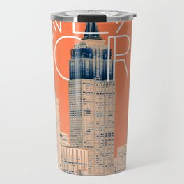 The Big Apple #society6 #decor #buyart Travel Mug