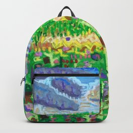 Tree on a Hill Backpack