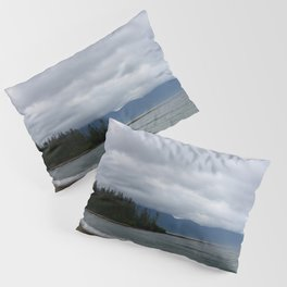 Low Clouds over the Bay Pillow Sham