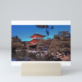 Golden Palace Mini Art Print