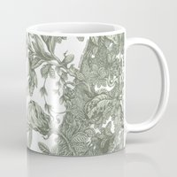 leaf Mugs featuring Leaf  by Maethawee Chiraphong