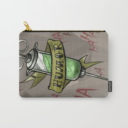 Injecting Humor Tattoo Carry-All Pouch