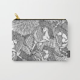 Pegasi, the Sun Dancers by Kent Chua Carry-All Pouch
