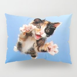 Here Kitty! Pillow Sham