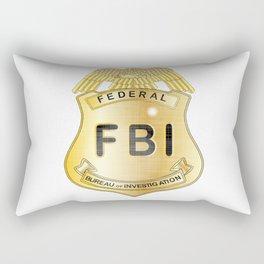 FBI Badge Rectangular Pillow