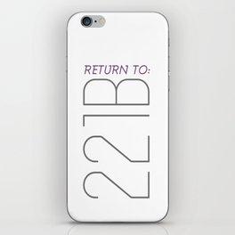 Return to 221B iPhone Skin