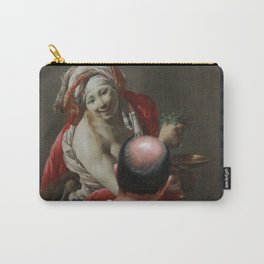 Painting Watching Person Carry-All Pouch