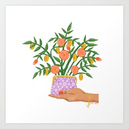Magical Plant Art Print
