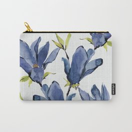 Blue Flowers 3 Carry-All Pouch