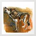 Totem arabian Desert Wolf by natachapink