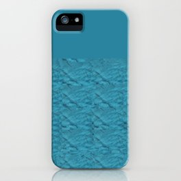 Tie Dye Blue iPhone Case