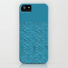 Tie Dye Blue iPhone Case