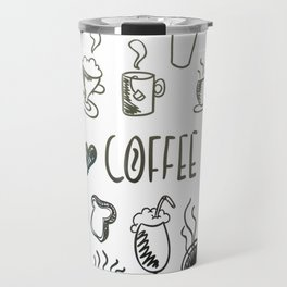 I Love Coffee Travel Mug