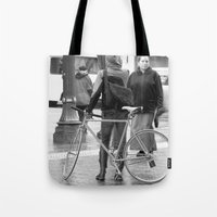 portland Tote Bags featuring Portland  by PIAH
