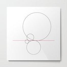 #424 Balance – Geometry Daily Metal Print