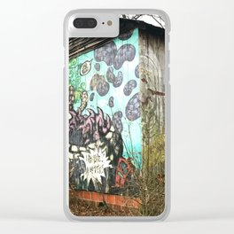 graffiti barn Clear iPhone Case