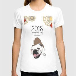 Year of the Dog - English Bulldog T-shirt