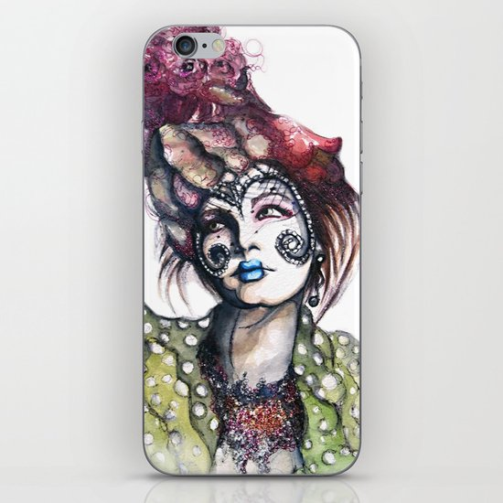 Great Expectations // Fashion Illustration iPhone & iPod Skin
