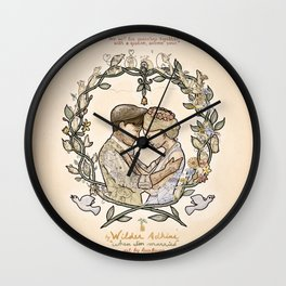 "Illustration from the video of the song by Wilder Adkins, ""When I'm Married"" Wall Clock"