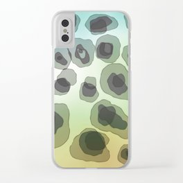 Free Form abstract art Clear iPhone Case