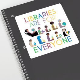 Rainbow Libraries Are For Everyone Sticker