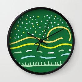 Rollin' On Wall Clock