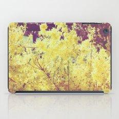 yellow flower - Forsythia iPad Case