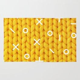 Yellow Sweater Rug