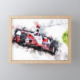 Juan Pablo Montoya No. 2 Framed Mini Art Print