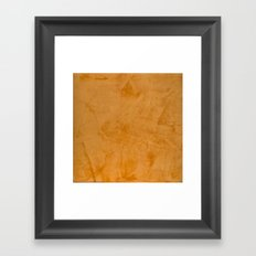 Orange Home Decor Accessories Framed Art Print