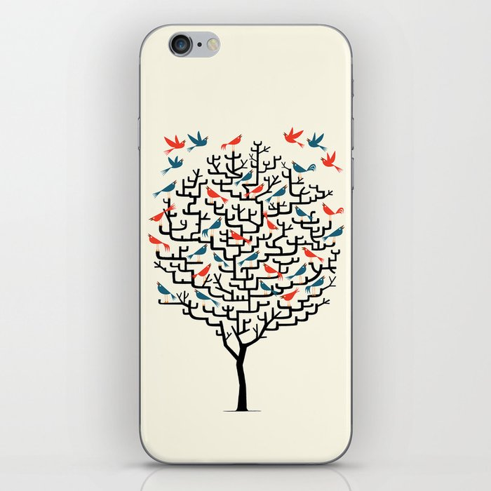 Out On a Lark iPhone Skin