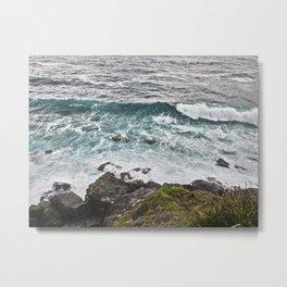 Rocky Cliffs II Metal Print