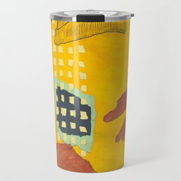 Salami Hand Man Travel Mug