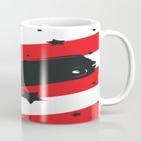 ford Mugs featuring Hot Ford by raven's_revelation_city_graphics