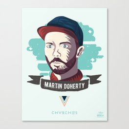 Martin Doherty  - CHVRCHES Canvas Print